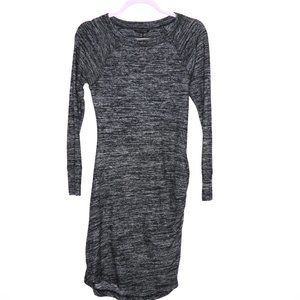 Banana Republic | Marled Long Sleeve Dress XS